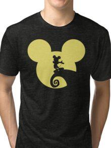 Mickey Skellington Tri-blend T-Shirt