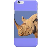 Black Rhino - Rare and Endangered Power from Wild Africa iPhone Case/Skin