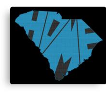 South Carolina HOME state design Canvas Print