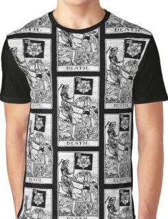 Death Tarot Card - Major Arcana - fortune telling - occult Graphic T-Shirt