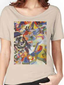 Colourful Detailed Kandinsky painting Women's Relaxed Fit T-Shirt