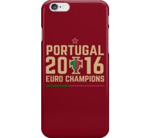 Portugal Euro 2016 Champions T-Shirts etc. ID-2 iPhone Case/Skin