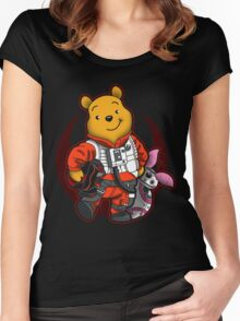 Pooh Dameron Women's Fitted Scoop T-Shirt