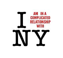 Do I love NY? Photographic Print