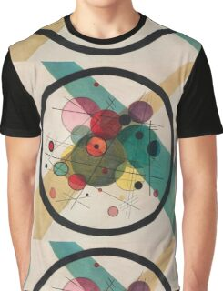 Kandinsky Abstract Painting Graphic T-Shirt
