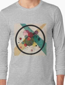Kandinsky Abstract Painting Long Sleeve T-Shirt