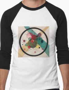 Kandinsky Abstract Painting Men's Baseball ¾ T-Shirt
