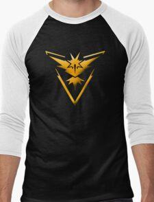 Pokemon GO - Team Instinct Men's Baseball ¾ T-Shirt