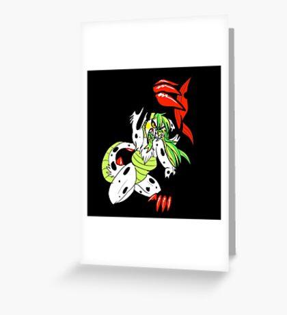 AriaSings - Aria Attacks! Greeting Card