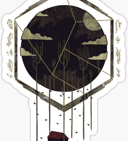 The Dark Woods Sticker