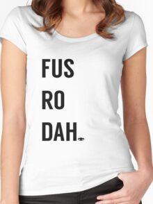 Fus Ro Dah Women's Fitted Scoop T-Shirt