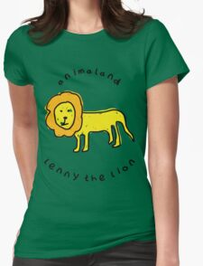 Lenny the Lion Womens Fitted T-Shirt