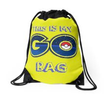 My GO! bag (Yellow) Drawstring Bag