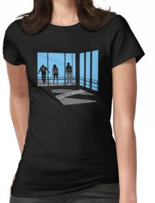 Life Moves Pretty Fast Womens Fitted T-Shirt
