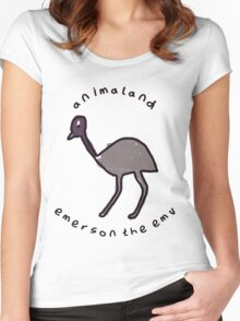 Emerson the Emu Women's Fitted Scoop T-Shirt