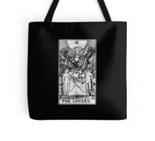 The Lovers Tarot Card - Major Arcana - fortune telling - occult Tote Bag