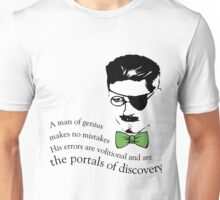 James Joyce Ulysses man of genius Unisex T-Shirt
