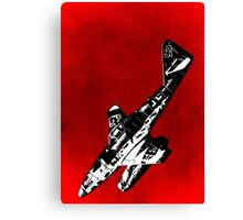ME262 Jet Fighter of WW2 Canvas Print