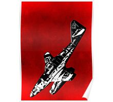 ME262 Jet Fighter of WW2 Poster