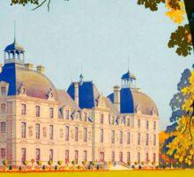 Cheverny, French Travel Poster Sticker