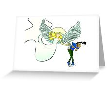 Mercy Seat! Greeting Card
