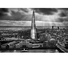 London from the Sky Garden Photographic Print