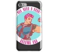 You need a hero? iPhone Case/Skin