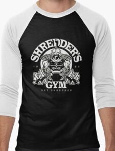 shredder's gym Men's Baseball ¾ T-Shirt