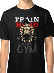 TRAIN HARD - Goku's GYM Classic T-Shirt