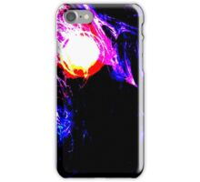 An abstract Meteor design iPhone Case/Skin