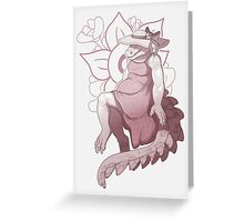A pretty reptile Greeting Card