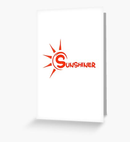 Snsd Sunny- Sunshiner Greeting Card