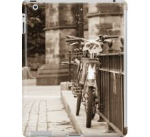 Chained Bicycles iPad Case/Skin