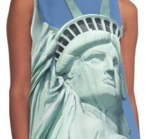 Statue of liberty Contrast Tank