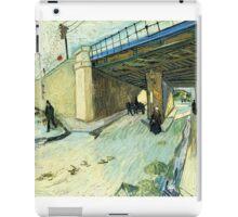 The Railway Bridge Van Gogh iPad Case/Skin