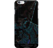 USGS TOPO Map Alaska AK Petersburg D-1 358362 2000 63360 Inverted iPhone Case/Skin