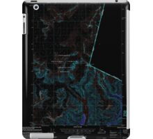USGS TOPO Map Alaska AK Petersburg D-1 358362 2000 63360 Inverted iPad Case/Skin