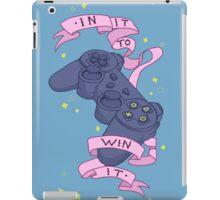 Win It! iPad Case/Skin