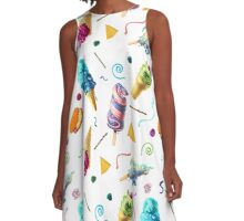 All Mutts Summer Flavours A-Line Dress