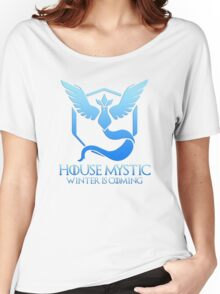 House Mystic (Game of Thrones + Pokemon GO) Special vers. Women's Relaxed Fit T-Shirt