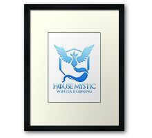 House Mystic (Game of Thrones + Pokemon GO) Special vers. Framed Print