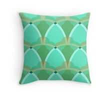 Nouveau Coquille Throw Pillow