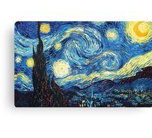 The Starry Night Vincent Van Gogh Canvas Print