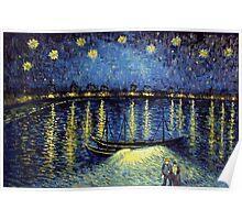 Vincent Van Gogh painting Poster