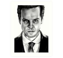 Jim Moriarty Drawing Art Print