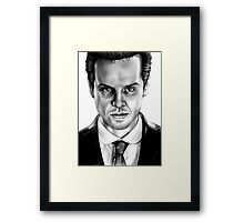 Jim Moriarty Drawing Framed Print