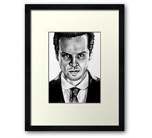 Jim Moriarty Drawing Framed Print