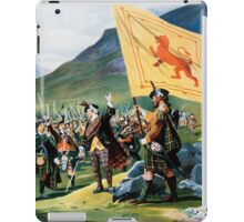 Deeside, British Travel Poster iPad Case/Skin