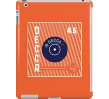 Decca Vintage Record Sleeve Vector iPad Case/Skin