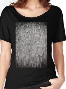 old thatch roof Women's Relaxed Fit T-Shirt